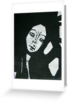 Angular Beauty in Black & White by JudithRedman