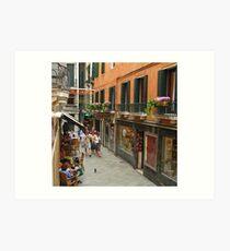 Venice Life Art Print