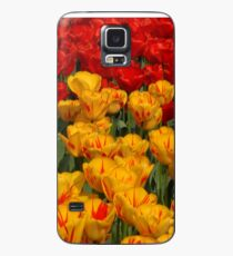 Mass of spring colour - Tulips in London Case/Skin for Samsung Galaxy