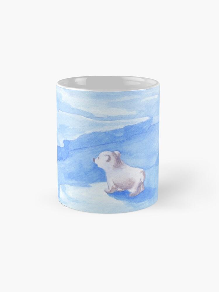 Alternative Ansicht von Baby Eisbär Tasse