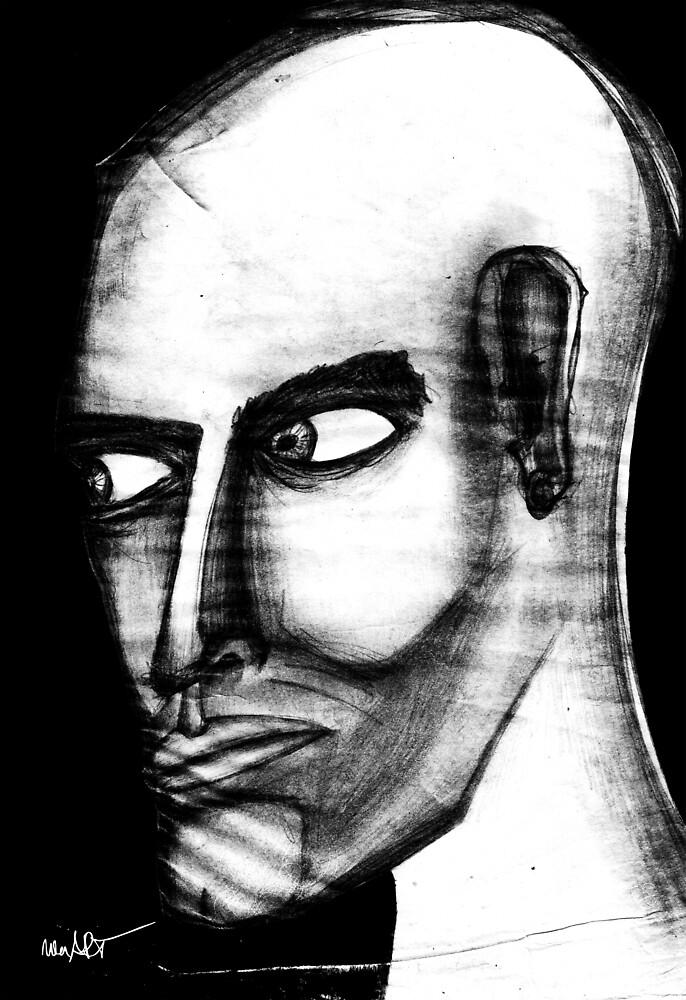 OHNE TITEL 05/03/1995 | Classical Art Mixed Media / Klassiche Kunst diverse Techniken von nenART-Official
