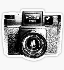 Holga 120S Black (Big) Sticker