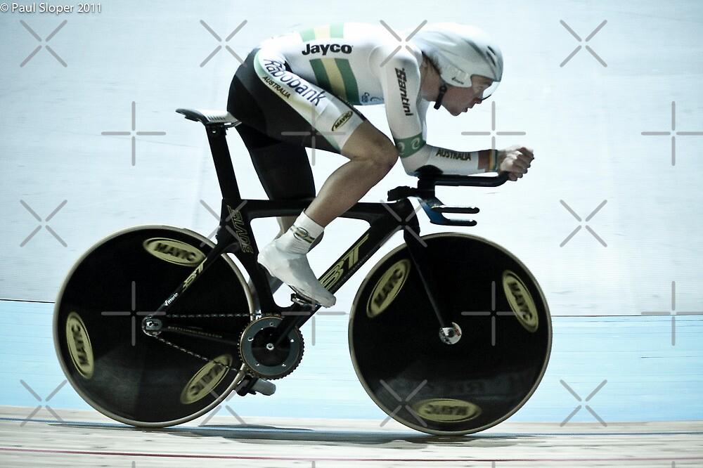 Rohan Dennis 2011 Apeldoorn World Track Championships by Paul  Sloper