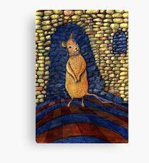 239 - THE MOUSE - DAVE EDWARDS - COLOURED PENCILS - 2008 Canvas Print