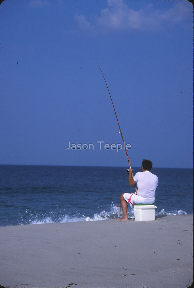 Beach Fishing by Jason Teeple
