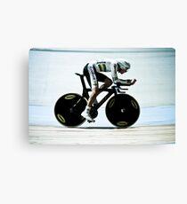Rohan Dennis 2011 Apeldoorn World Track Championship Canvas Print