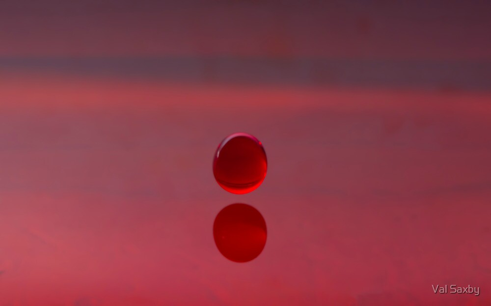 Red by Val Saxby