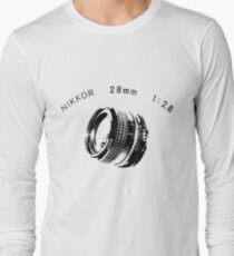 Nikkor 28mm Black T-Shirt