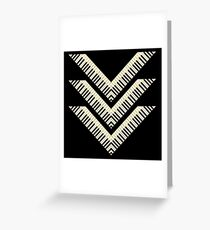 Pianist V Keyboards Greeting Card