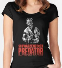 NES Predator: Arnie Edition Women's Fitted Scoop T-Shirt