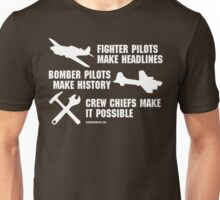 Crew Chiefs Make it Possible (White Text)  T-Shirt