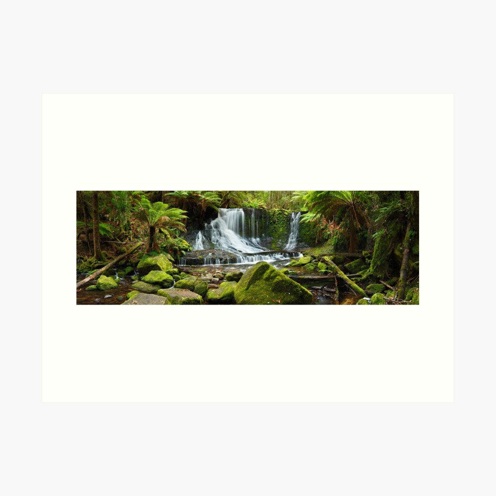 Horseshoe Falls, Mt Field National Park, Australia Art Print