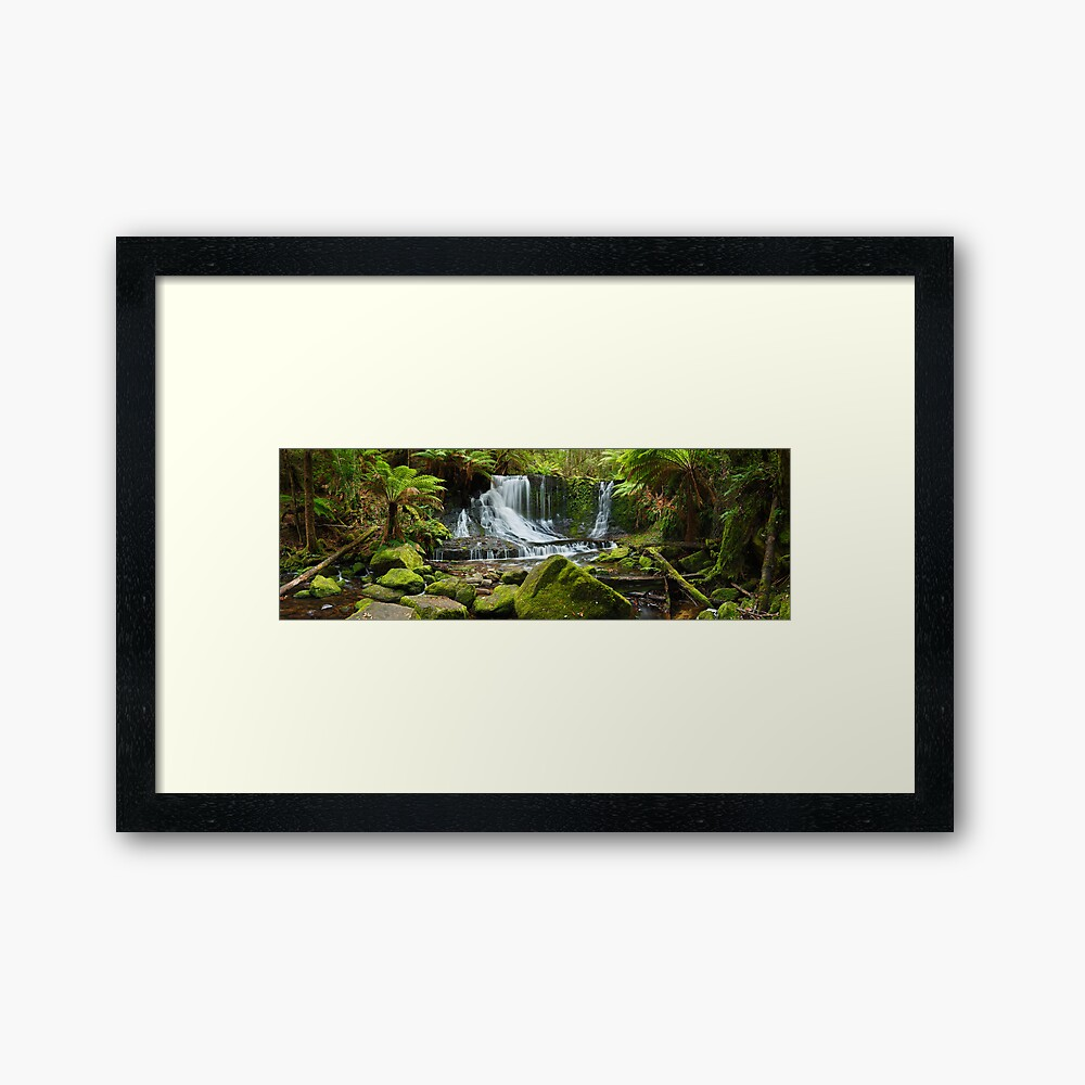 Horseshoe Falls, Mt Field National Park, Australia Framed Art Print