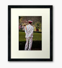 Ho Chi Minh Guard Framed Print