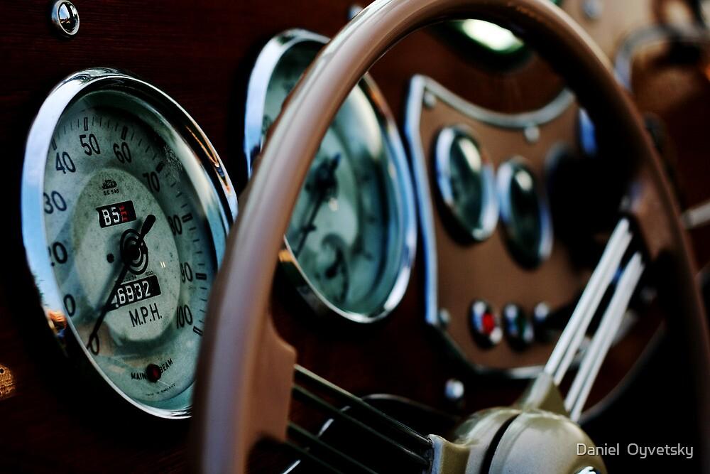 Antique MG Dash Concole by Daniel  Oyvetsky