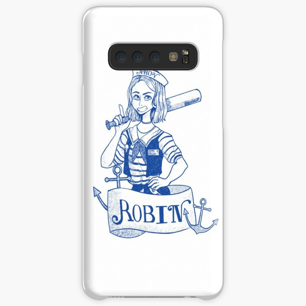 Stranger Things Robin Scoops Ahoy  Case & Skin for Samsung Galaxy
