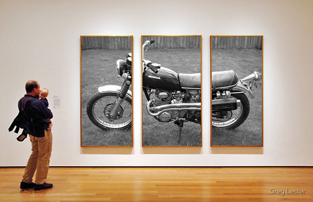 Motorcycle Gallery by Greg Lester
