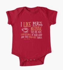 I like mugs Kids Clothes