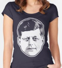 JFK Women's Fitted Scoop T-Shirt