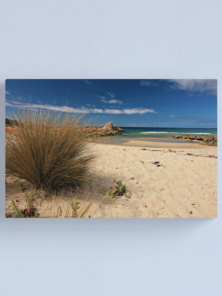 Alternate view of North East River - Flinders Island, Tasmania Canvas Print