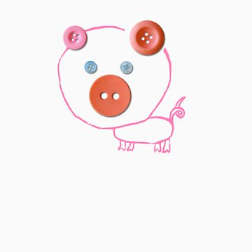 benjamin button pig by lucyandhenry