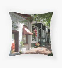 Dahlonega Historic Square Americana Throw Pillow