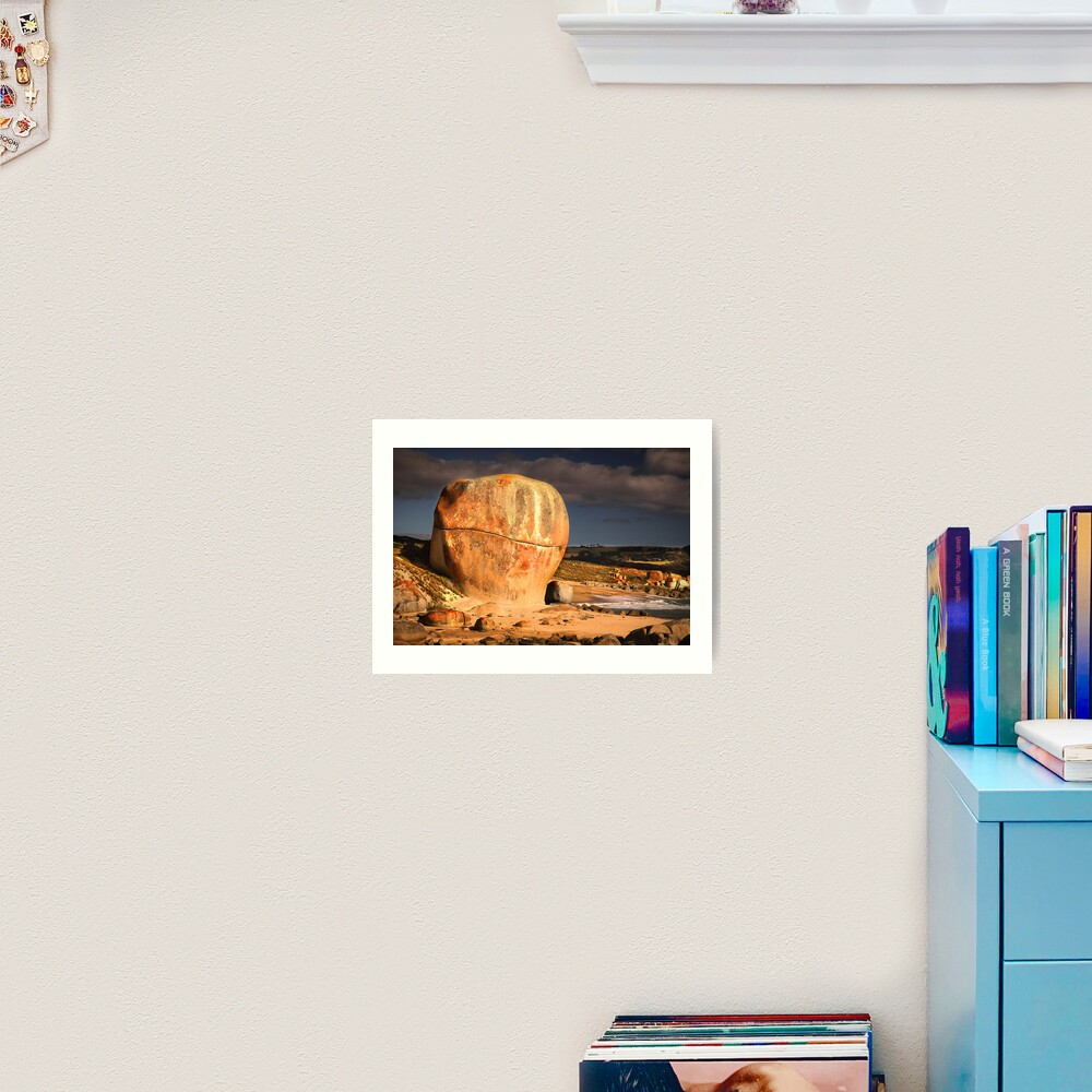 Castle Rock - Flinders Island, Tasmania Art Print