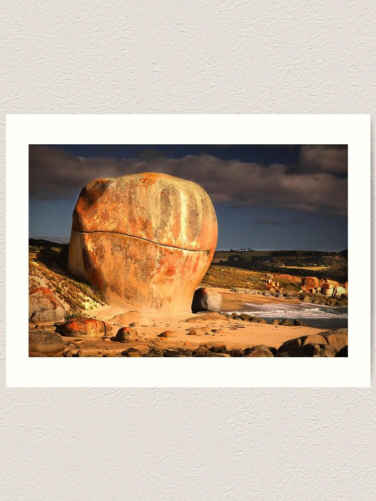 Alternate view of Castle Rock - Flinders Island, Tasmania Art Print