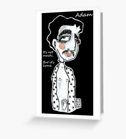 And Adam.. Greeting Card