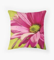 All Things Bright & Beautiful - Daisy Throw Pillow