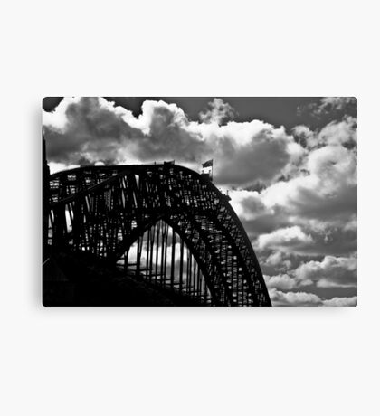 Clouds, lines, steel, and me someday...: On 2 Featured Works Metal Print