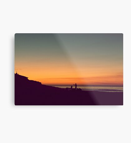 we drifted upon the sighs of summer Metal Print