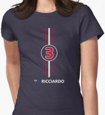 F1 2014 - #3 Ricciardo Women's Fitted T-Shirt