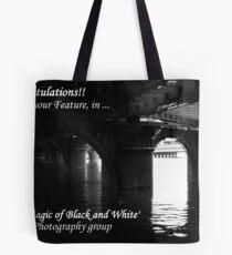Banner challenge ... Tote Bag