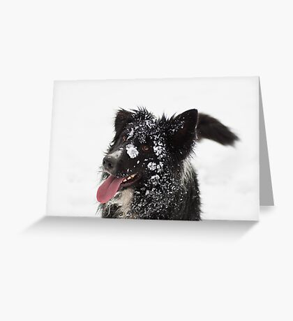 Happy Face Greeting Card