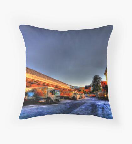 Truckloads of Fun Throw Pillow