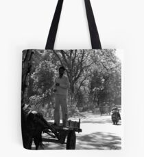 Horse Cart Riding !! - Indian Highways Tote Bag