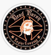 Dead Baron Engine Co. Sticker