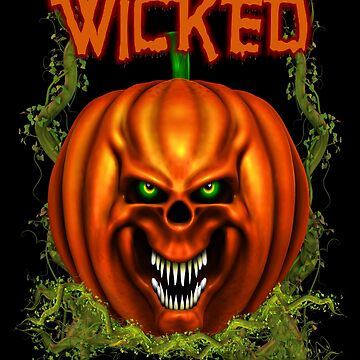 Manic Pumpkins .. Wicked by LoneAngel