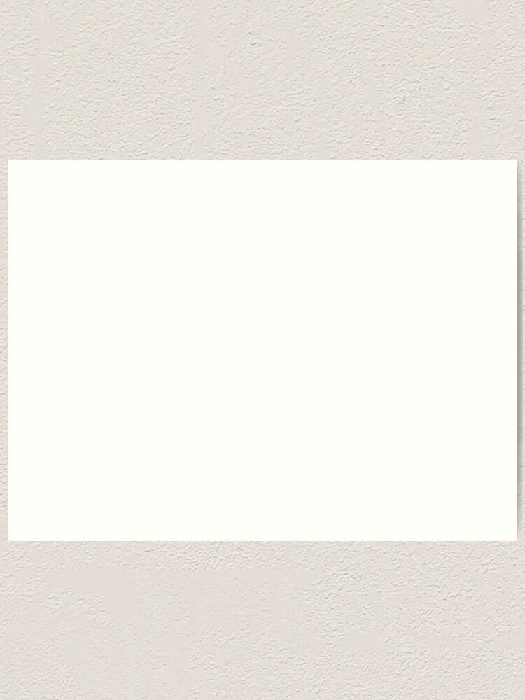 Alternate view of #VWforLife (White) Art Print
