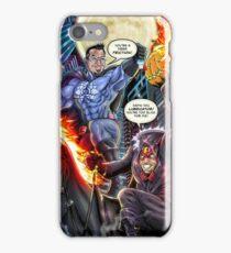 SheVibe Presents - Dean Elliott, The Sliquid Lubricator Cover Art iPhone Case/Skin