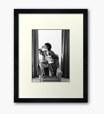 "Two / ""Elementary, My Dear Watson"" Framed Print"
