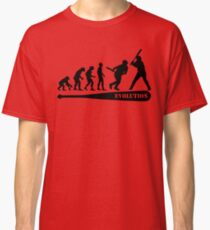 Baseball Evolution Classic T-Shirt