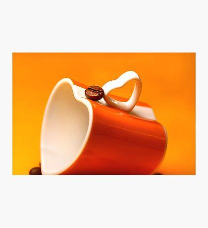 Coffee Bean's Friendly Persuasion Photographic Print
