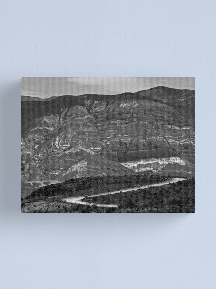Alternate view of Padre Point Rainbow Rock Canvas Print