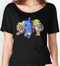 Crowne Beasts- Shiny Entei, Raikou, Suicune Women's Relaxed Fit T-Shirt