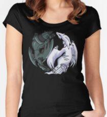 Pokemon YinYang- Reshiram and Zekrom Women's Fitted Scoop T-Shirt