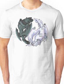 Pokemon YinYang- Reshiram and Zekrom Unisex T-Shirt