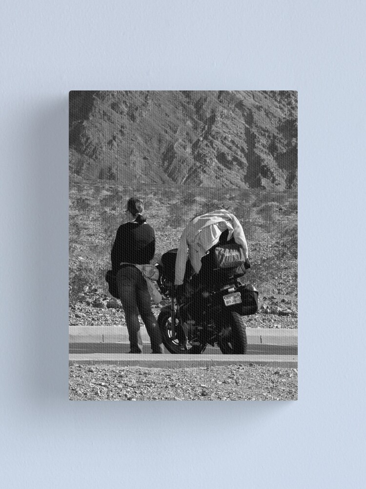 Alternate view of Ready to Ride Canvas Print