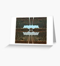 Docking At The Space Station Greeting Card